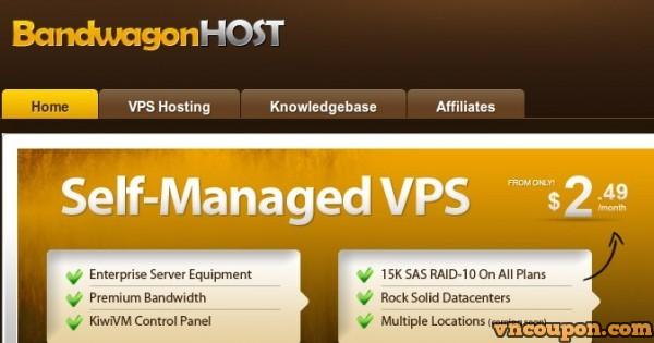 Bandwagon Host(搬瓦工) – 最新优惠 VPS plans in 洛杉矶 –中国 直连 from $29.99每年