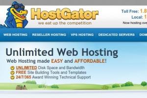 Hostgator – 虚拟主机 优惠75% 优惠券 九月2014
