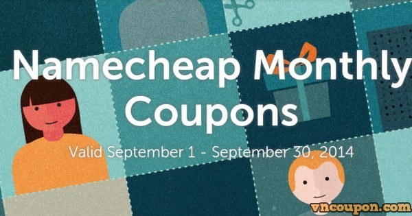 Namecheap – 优惠券、优惠码 on 九月 2014
