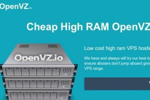 OpenVZ.IO – INIZ New Brand – Cheap 大内存 OpenVZ VPS