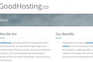 GoodHosting.co – JingLing/HitLeap Optimized VPS