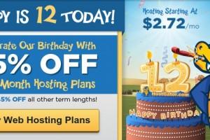 Hostgator – Birthday Sale 最高优惠65% New Hosting