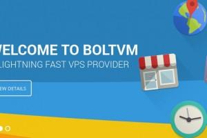 BoltVM – 1 GB 内存 50 GB SSD OpenVZ VPS 仅 $20每年