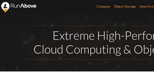 RunAbove –  免费$47 优惠券 2GB Memory Cloud VPS