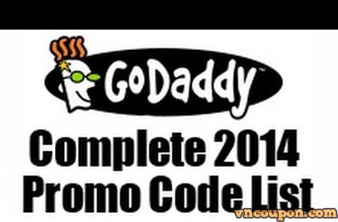 Godaddy – 优惠券 & 优惠码 十二月2014
