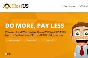 [黑色星期五 2015] HostUS – 3 New位置 – 优惠25% 优惠券 Inside! 免费DDoS防护