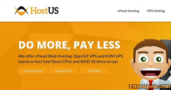 HostUS 特价机套餐 – 768MB $16每年 – 2GB $35每年 OpenVZ VPS – 免费DirectAdmin Licensing