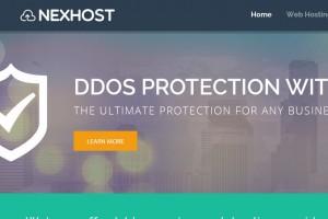 NexHost – $5.50 1GB KVM VPS – DDoS防护 – Custom ISO