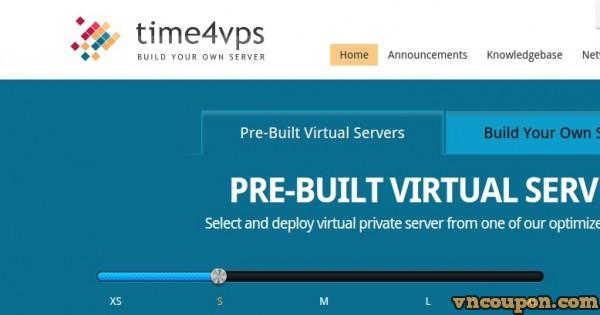 Time4VPS –  25%折扣 512GB Storage Server 最低 19.9 EUR每年