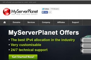 MyServerPlanet Ltd – Huge 提供 from 2.50英镑每年 OpenVZ