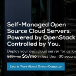 DreamCompute – DreamHost offer 50% Cloud VPS 最低 $5/mo