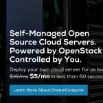 DreamCompute – DreamHost offer 50% Cloud VPS 最低 $5每月