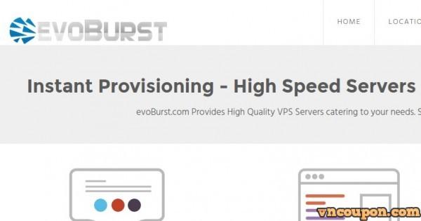 EvoBurst Solutions – VPN 特价机 仅 $11每年