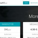 MegaVZ – 1GB 内存 OpenVZ VPS 仅 €5每年 with NAT IPv4