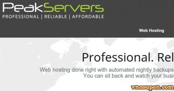 PeakServers – OpenVZ 最低 $15/y – SSD VPS 最低 $4.95 – KVM 最低 $6.99