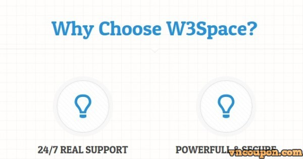 W3Space – offering 50%永久折扣 – $6.98/mo for 2GB 内存 KVM VPS