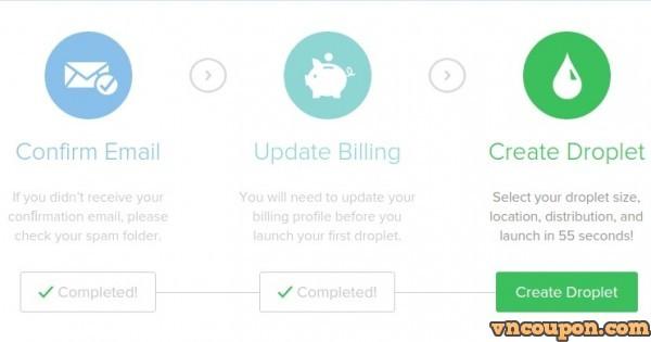 DigitalOcean – Get $40 免费Credit 限新客户 – 仅 1 code per account