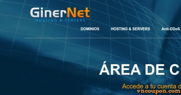 GinerNet –  9.99€每年 for 5GB SSD + 512MB 内存 OpenVZ VPS – DMCA ignore