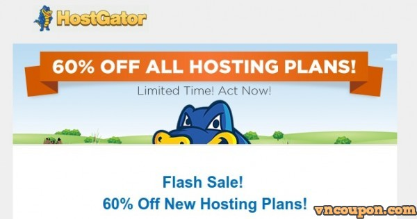 HostGator Flash Sale – 优惠60% New Hosting套餐 – A Golden 夏季Sale