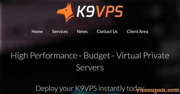 K9VPS offer 256MB OpenVZ VPS for $10每年 in 洛杉矶