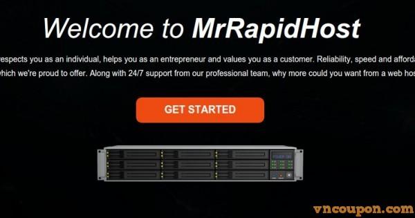 MrRapidHost – Offer 512 MB内存OpenVZ VPS 仅 $15每年
