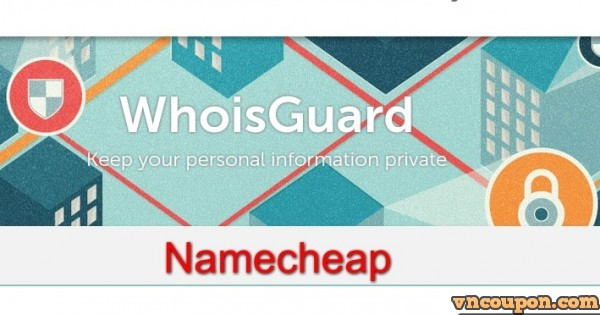 Namecheap Whoisguard $0.99 优惠券 – Protect your privacy
