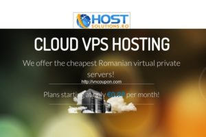 HostSolutions.ro – 2 Core 2GB 内存 OpenVZ VPS 仅 €5.97 EUR每季度 in Romania – 仅 19 VPS in stock