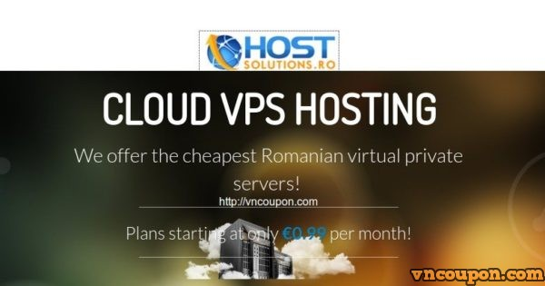 HostSolutions.ro – 2 Core 2GB内存OpenVZ VPS 仅 €5.97 EUR每季度 in Romania – 仅 19 VPS in stock