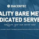 Dacentec offer cheap 独服 最低 $20/mo for 8GB 内存