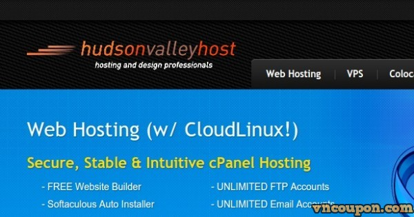 [Memorial Day Sale] Hudson Valley Host – OpenVZ 4GB 内存, 5 IPs $48每年