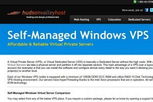 Hudson Valley Host – 优惠45% Windows VPS 最低 $2.75每月 – Holiday Sale – 特价机 3GB内存Windows VPS 仅 $7.5每月
