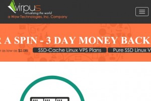 Virpus – 15%折扣 of XenPV VPS in Seattle from $21.25每年