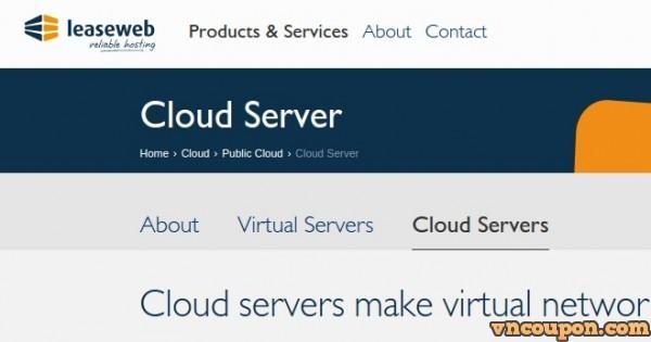 LeaseWeb – 40%折扣 KVM VPS & Cloud VPS