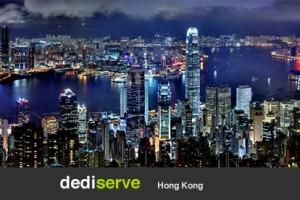 Dediserve expands to 香港, Asia – 50% 永久 Cloud VPS
