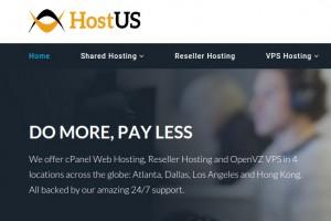 HostUS – Cheap 香港 VPS 最低 $25每年