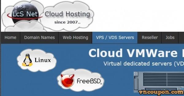 LcSNet Offshore Cloud VPS – 45%折扣 KVM & 67%折扣 VMWare