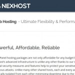 NexHost – cPanel 虚拟主机 最低 $1每月 with DDoS防护 in Seattle