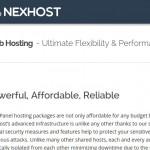 NexHost – cPanel 虚拟主机 最低 $1每月 with DDoS防护 in Seattle