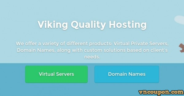 Viking Layer – DrServer's Brand with Pure SSD VPS from €1 EUR/ mo – 30% extra 优惠券