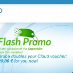ArubaCloud Flash Promo – doubles voucher €20.00 for you now – VMware VPS 最低 €1.00每月