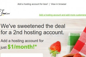 Fatcow Offer – Another website for $1每月!
