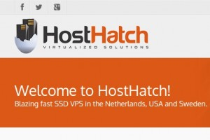 HostHatch – SSD VPS in 香港, Asia 最低 $2.50 USD per month