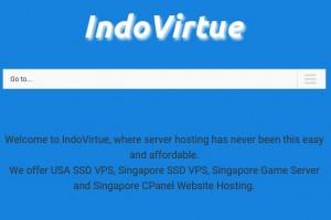 IndoVirtue – Cheap Singapore cPanel 虚拟主机 & VPS 最低 $9每年