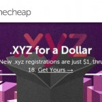 NameCheap – Happy Birthday .xyz! – 域名 .xyz registrations 仅 $1 首年