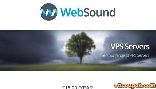 WebSound – 特价机 KVM VPS 最低 12英镑每年 in 拉斯维加斯, 美国