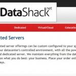 Datashack – cheap 独服 最低 $25每月
