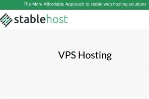 StableHost – 50%永久折扣 for all VPS Plans