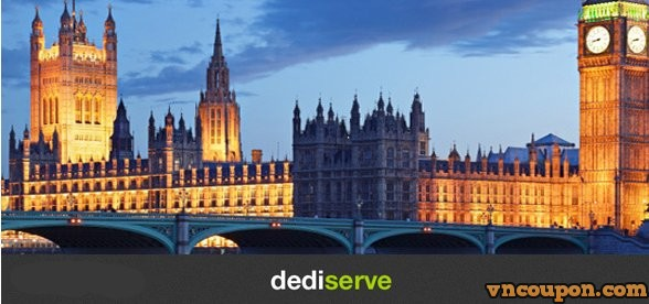 Dediserve –伦敦 Docklands Cloud Now Re-Opened –  优惠60% Cloud VPS