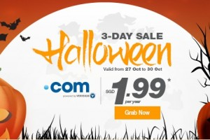 Halloween 2015 域名 优惠码 &折扣 start 最低 $0.99