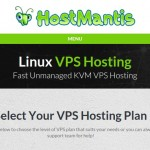 HostMantis – 优惠70% KVM VPS with 1GB 内存 / $4.48每月 / Daily Backups